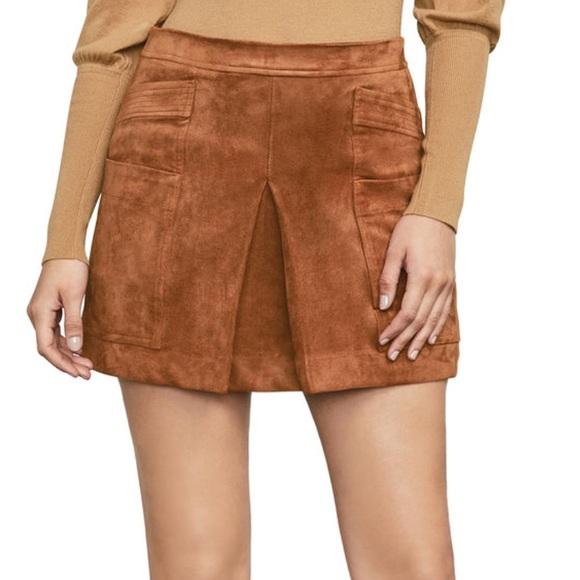 6bf0a68ae1 BCBGMaxAzria Skirts | Corinne Faux Suede Skirt | Poshmark